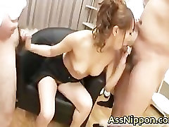 Anna Mizukawa Naughty Asian model gets part4