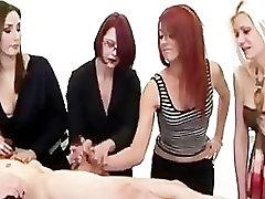 Group cfnm fetish ass sex hole handjob