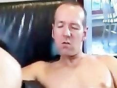 Asian slut having fun with 2 cock part2
