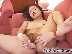 Lesbian dildoing and eating part6