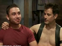 Marc Dylan is Bound, Beaten and BDSM Training