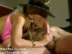 Classic porn with huge tits blonde banged by two