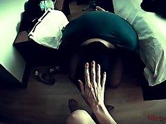 Mistress uses Slave to polish her Nails POV - Mistress Kym