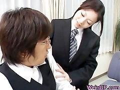 Cock hungry asian sluts sucking, fucking part4
