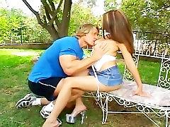 Sexy Asian Outdoor Sex BANZAI!!