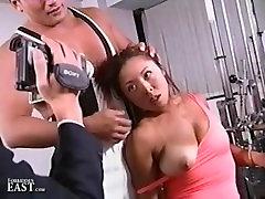 Uncensored Japanese Erotic Fetish Sex - Gym Bondage 17 Pt 1