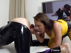 Femdom Blowjob video from Mistress Angelina