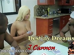 Rome Major & J Cannon plays strip poker with Destiny Dreams