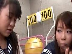 Two Asian Schoolgirls