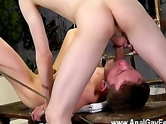 Hot twink Thats what Brett is faced with in this domination session,
