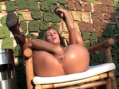 Incredibly HOT Babe Smokes And Fist Fucks Herself Outdoors!!! HQ