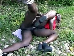 French black bbw assfucked