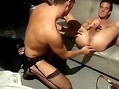 Marine guy fucked in High Heels