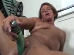 Granny Big Clit Solo Play In The Gym mature mature porn granny old cumshots cumshot