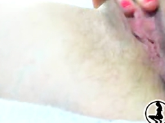 Young Asian Girl Fingering Her Wet Pink Pussy