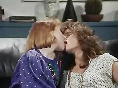 Office Lesbians in retro movie