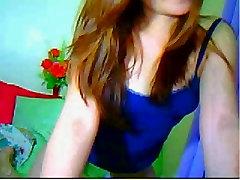 Very cute asian girl on webcam