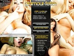 Glamour dziewczyna ekstremalną penetracja dildo