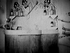 Antique Porn 1930s - FFM Threesome - Nudist Bar