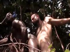 Boy fucks black guy