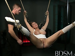 BDSM XXX Suspended subs are here to please their Mistress and Master