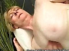 Hot Hairy Pussy Granny Fucking