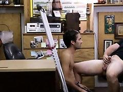 Straight men getting finger video gay Dude screams like a la