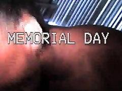 Memorial ebony blowjob