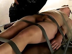 Cute gay emo bondage and gale male leather bondage The cum t