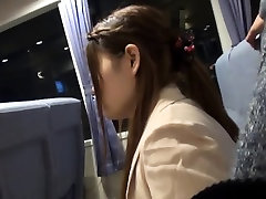 Asian slut public rubbing