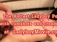 Shy Ladyboy Mod Barebacked