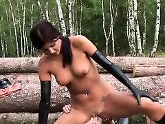 Latex and seductively fetish bdsm fucking