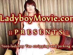 Ladyboy Teen Tus Stroking