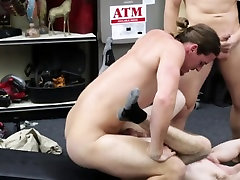 Gay pov threeway for a poor amateur jock