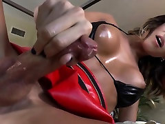 Fetish shemale toy ass