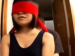 Blindfolded Japanese women escorted into box Subtitles