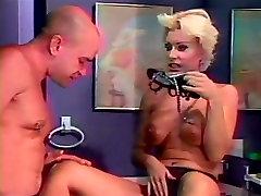 Sexy big tits blond sexy feet licked