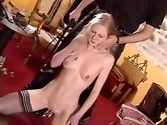 French Soumisive girl hard spanked 2