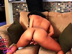 Adriana Malao Ebony Teen Pounded By White Cock