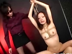 Dominated Asian Teen Gets A Creampie