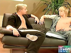 Twink Boy Media two boys swapping cum