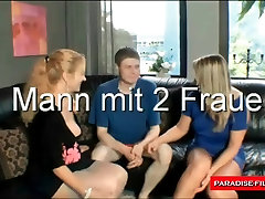 Paradise Films lucky guy with 2 mature women