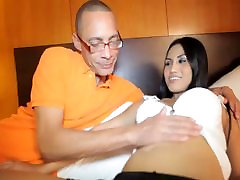 Sexy shemale Ben takes a hardcore fuck in her ass