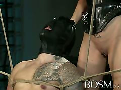 BDSM XXX Suspended subs are here to please their Mistress