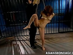 Hot Asian babe is a sex slave
