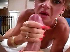 Big Tits MILF Handjob