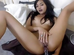 Stunning Asian Teen Masturbation