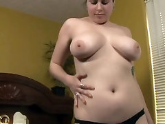 Very Horny Chubby Teen Masturbating her Hairy Wet Pussy