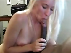 White Wife taking a Big Black Cock