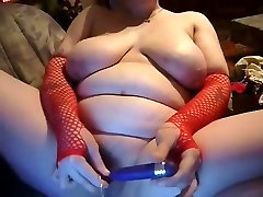 Horny Fat BBW GF loves masturbating and sucking cock